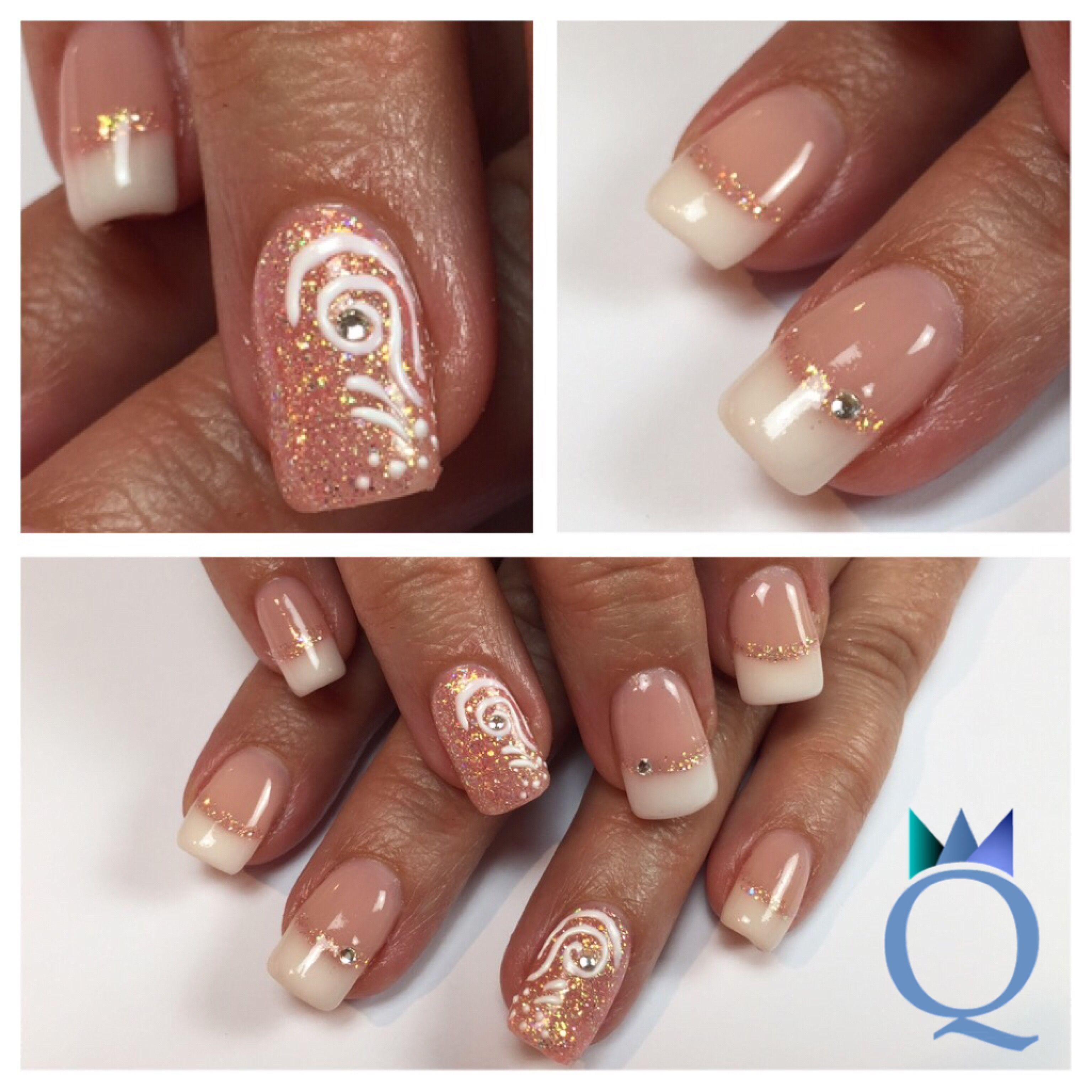 Beeindruckend Gelnägel Muster Das Beste Von #squarenails #gelnails #nails #frenchnails #yvesswiss #coral #glitter