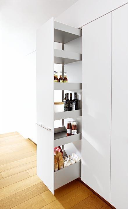 Ordnung Küche von Bulthaup lagerraum idee *-* Pinterest - ordnung in der küche
