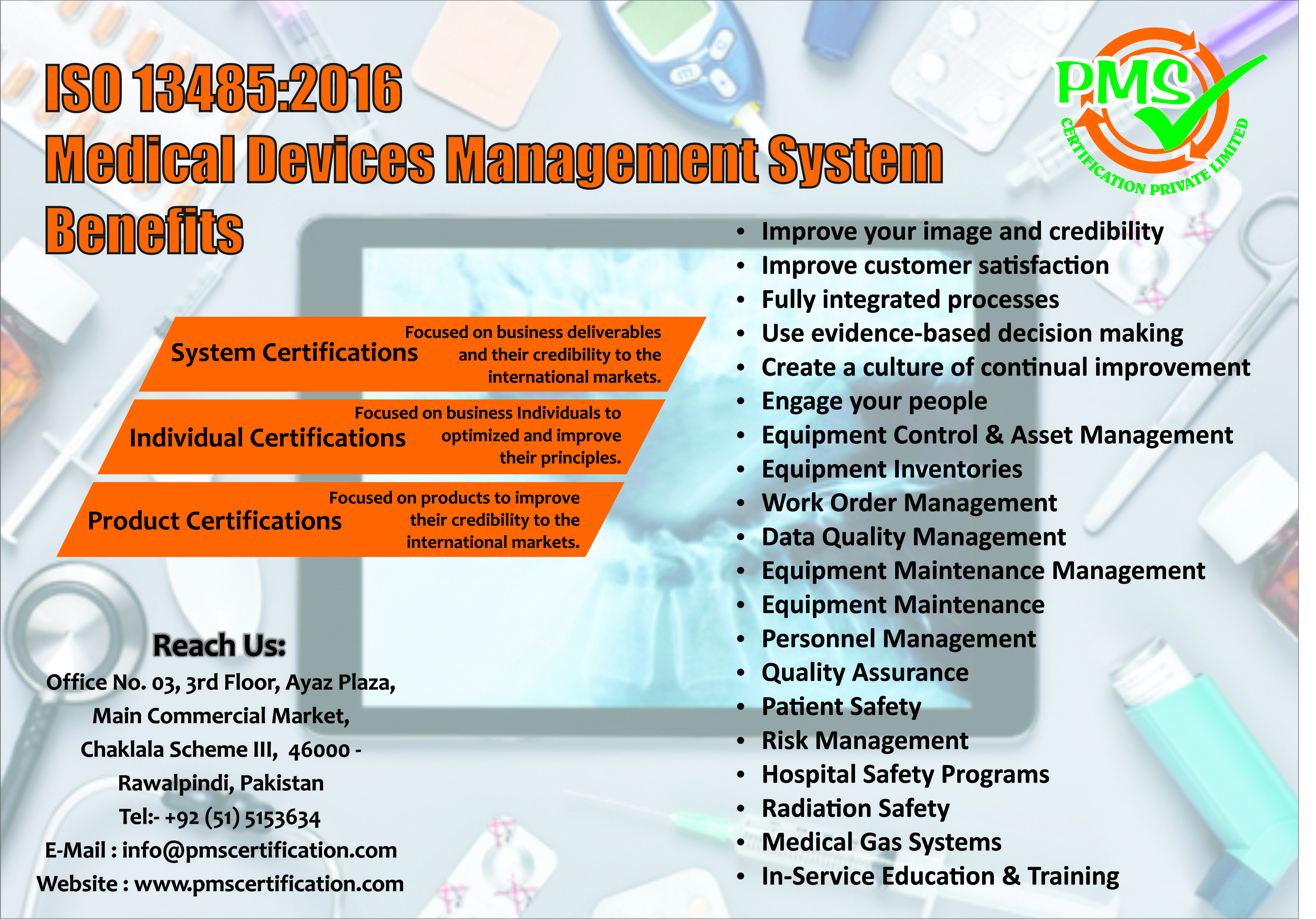 Dont Miss Iso 134852016 Medical Devices Management System