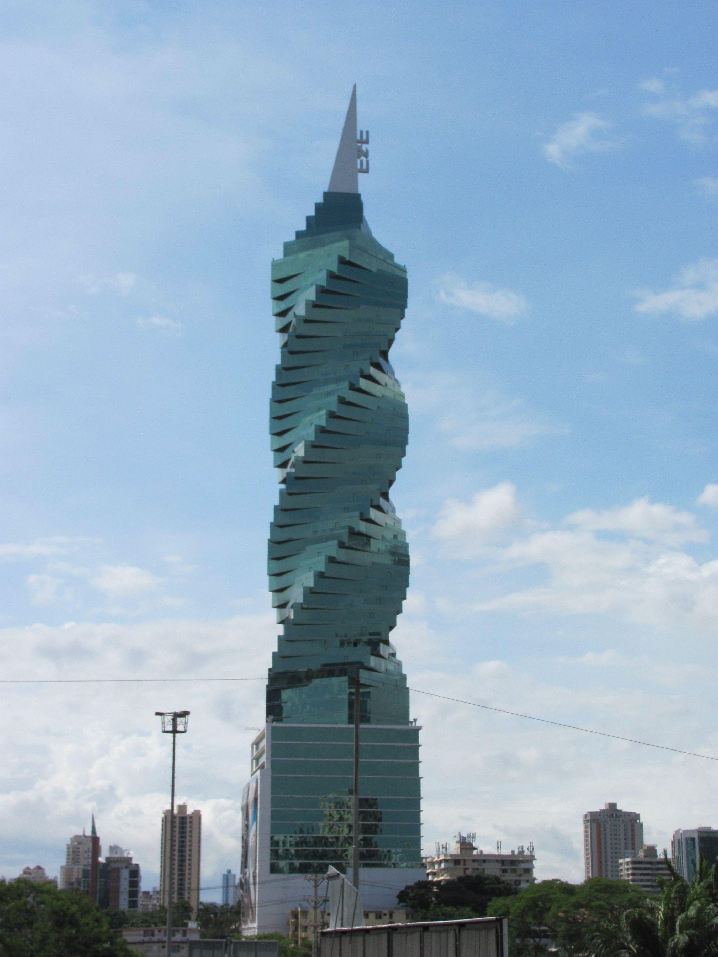 Revolution Tower - Panama . Mejor conocido como el tornillo