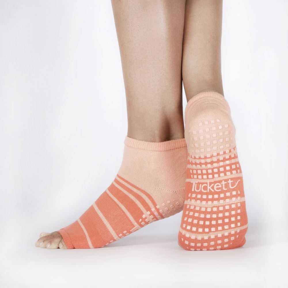 Tucketts - Freedom for toes Perfect for  yoga  barre  pilates and any  barefoot 1ea98e37bac