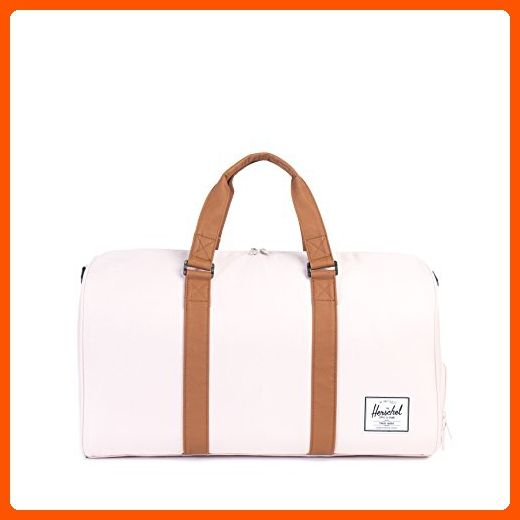 81c600e31 Herschel Supply Co. Novel Duffle Bag, Cloud Pink/Tan Synthetic Leather - Dont  forget to travel (*Amazon Partner-Link)