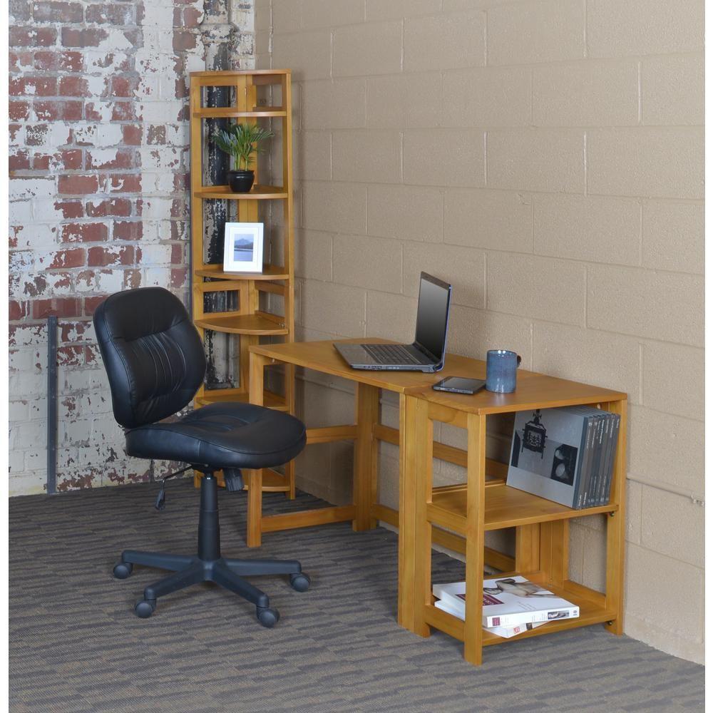 Office folding tables flip flop medium oak folding desk with easy assembly  folding desk