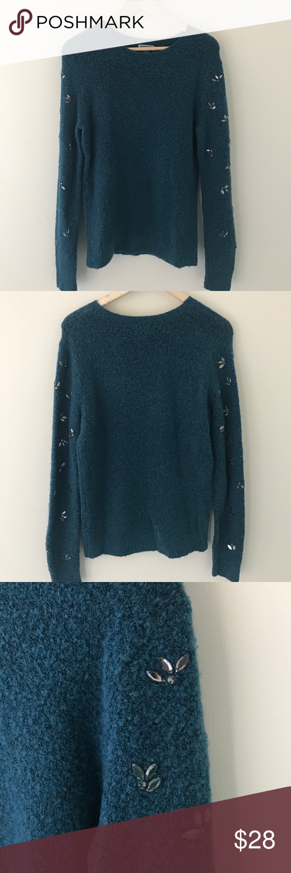 Chelsea 28 embellished sweater from Nordstrom This beautiful sweater is in great condition! Nordstrom Sweaters