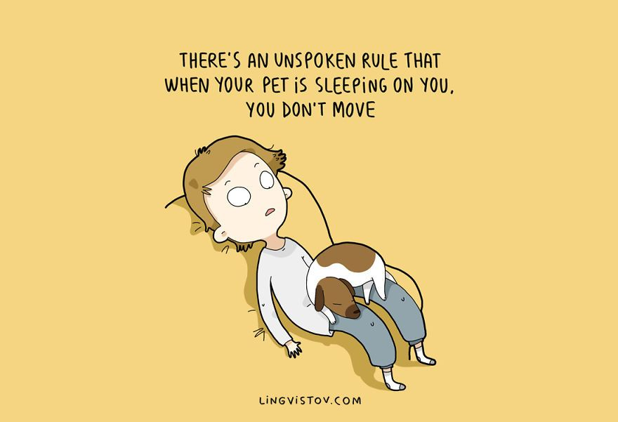 If Youre A Dog Owner Youll Totally Relate To These Images Dog - 10 funny illustrations every dog owner will relate to