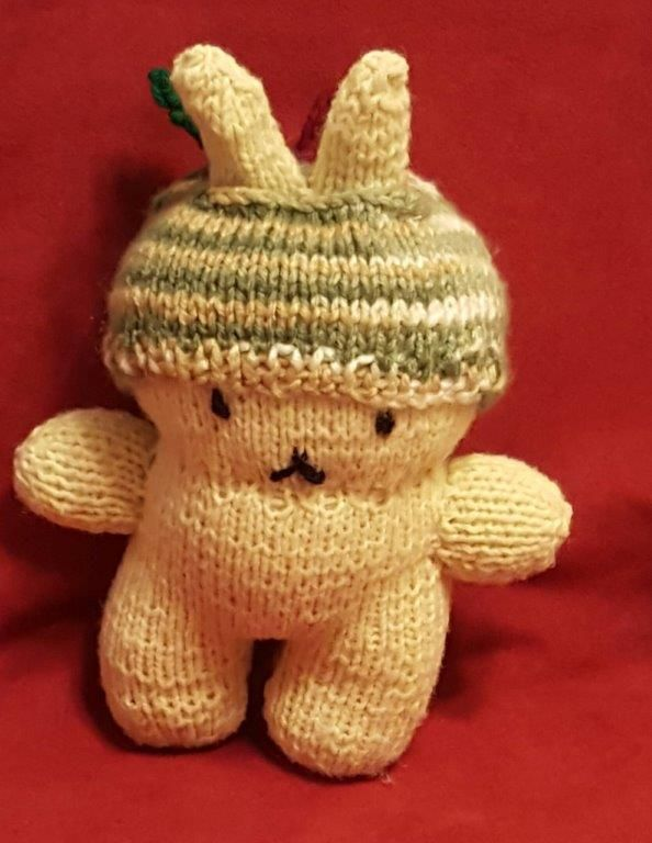 Apple Bunny - TOYS, DOLLS AND PLAYTHINGS