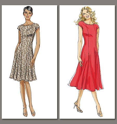 Vogue Patterns 8665 Misses\'/Misses\' Petite Dress | Neuer und Nähen
