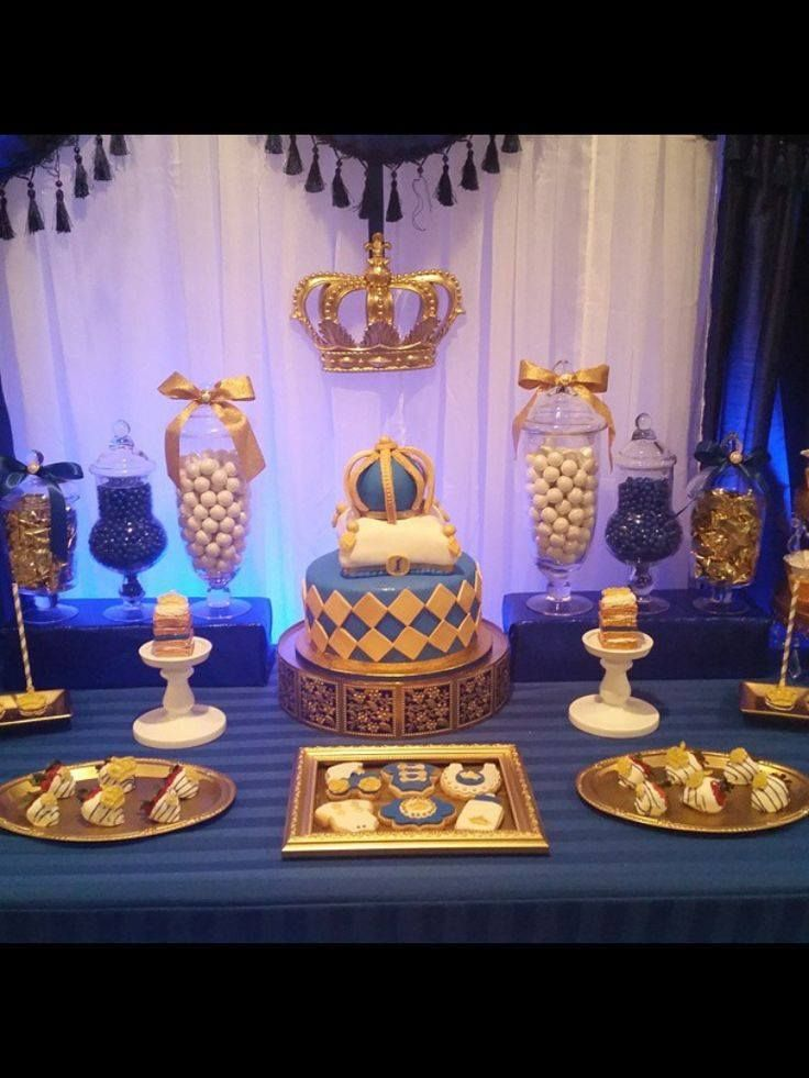 Tema pr ncipe coronas cumplea os y cumple for Ideas de decoracion baratas y originales