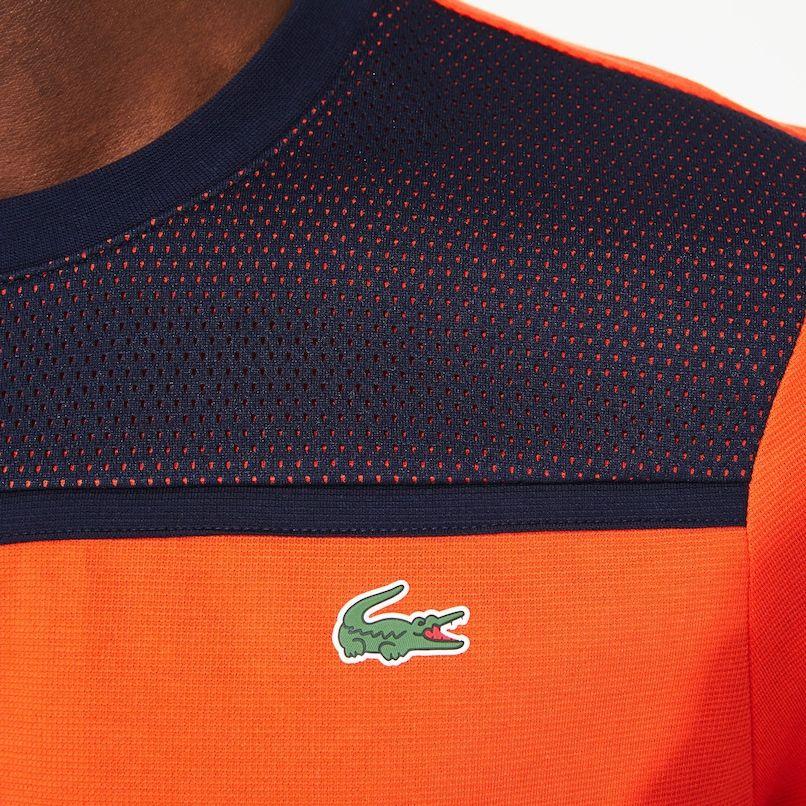 Men S Lacoste Sport Crew Neck Ultra Light Cotton Tennis T Shirt Lacoste Lacoste Sport Lacoste Tennis Tshirts