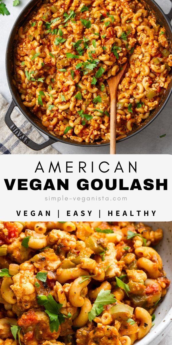 American Vegan Goulash
