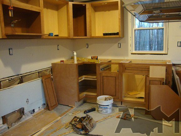 Santa Or Jesus Must Have Made The Lazy Susan Installing Kitchen Cabinets New Kitchen Cabinets Kitchen Remodel