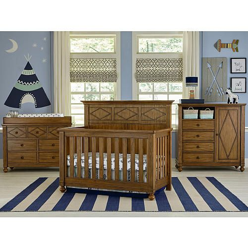 Brookdale Convertible Crib by Bassett Furniture | Styling Portfolio ...