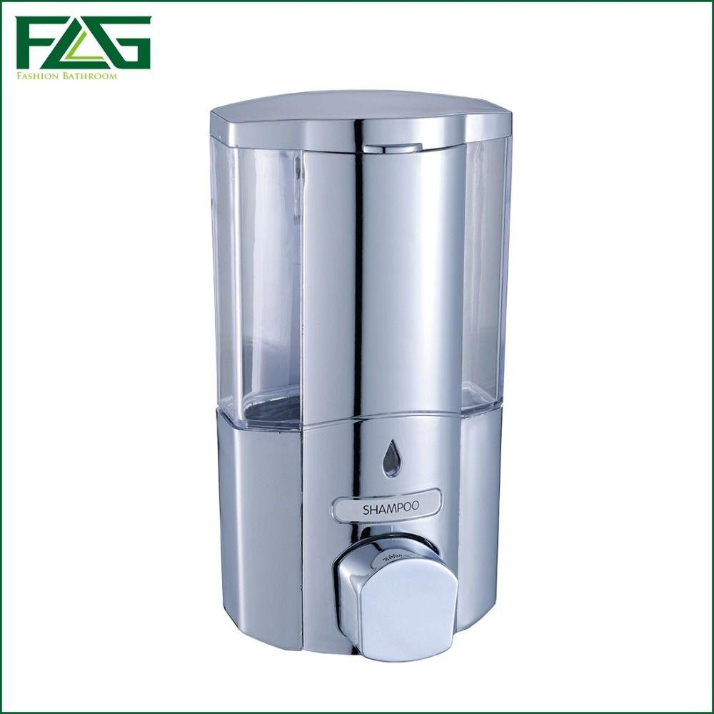 Wall Mount Soap Sanitizer Shower Bath Shampoo Dispenser Lock For Bathroom Washroom Abs Plastic Li Shampoo Dispenser Soap Dispenser Wall Bathroom Soap Dispenser