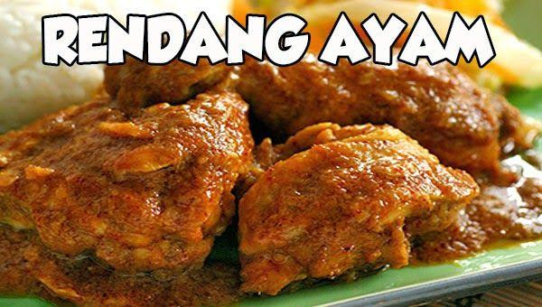 Masakan Praktis Rumahan Resep Rendang Ayam