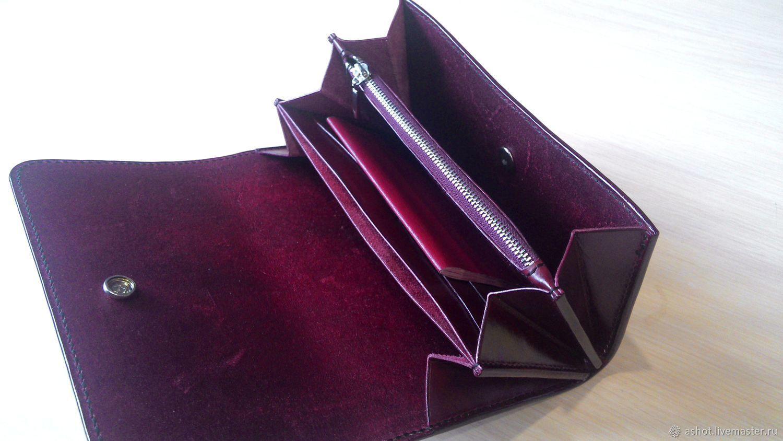 cdd6b085ab1d Кошельки и визитницы ручной работы. Клатч из натуральной кожи, Клатч  женский кожаный, Клатч