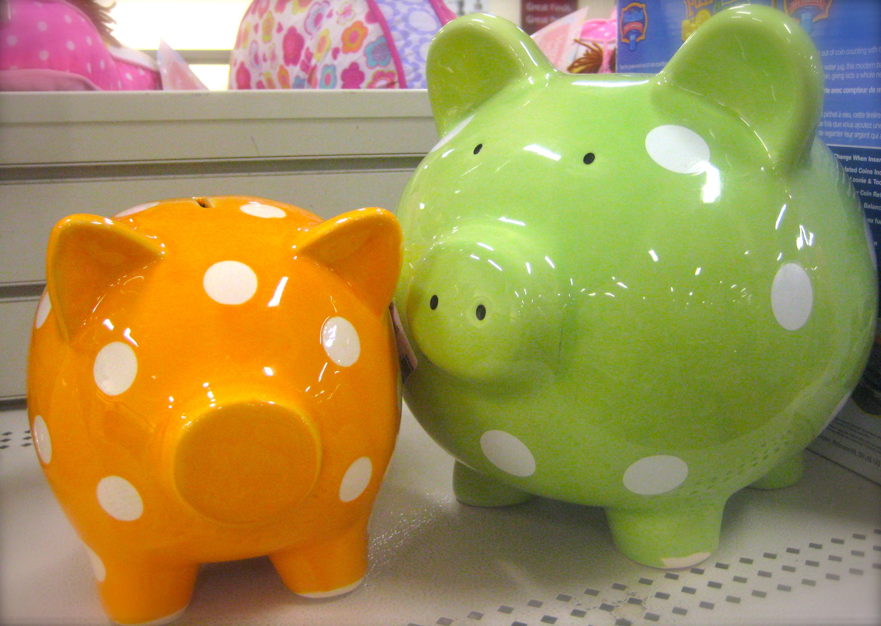 homesense piggy banks nursery