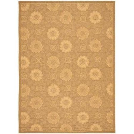 Safavieh Courtyard Alan Power-Loomed Indoor/Outdoor Area Rug or Runner, Gold