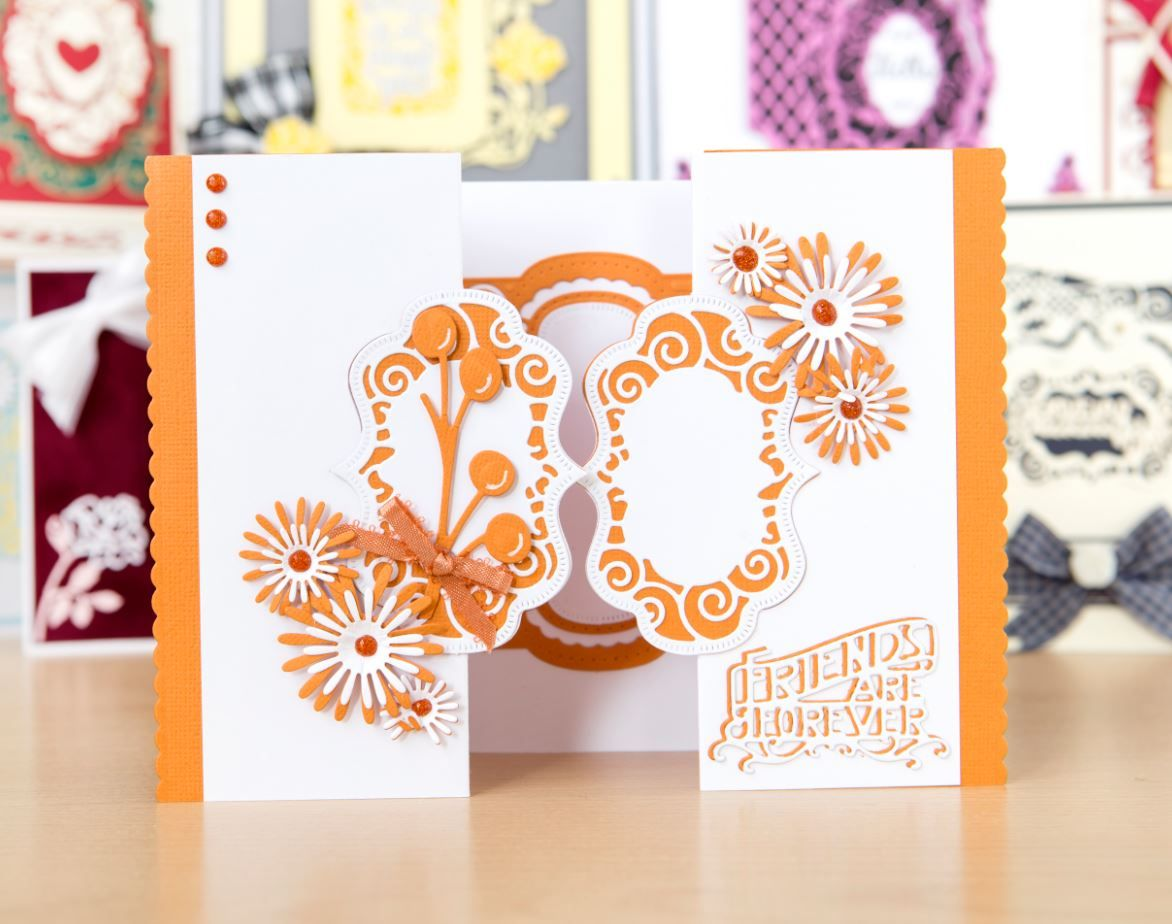 Make beautiful, bespoke cards with the Tonic Essentials Frame, Flip ...