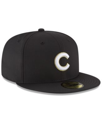 a4af27b6 New Era Chicago Cubs Prolite Gold Out 59FIFTY Fitted Cap - Black 7 ...