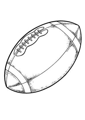 printable football coloring pages - Free Printable Football Coloring Pages