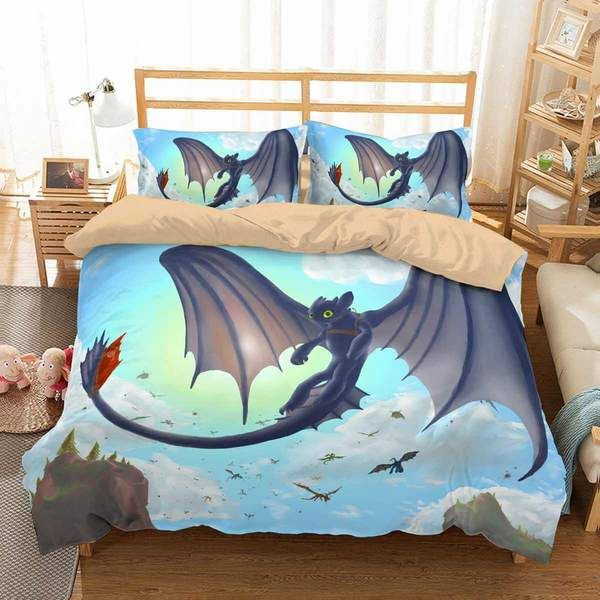 3d customize how to train your dragon bedding set duvet cover set 3d customize how to train your dragon bedding set duvet cover set bedroom set bedlinen ccuart Choice Image