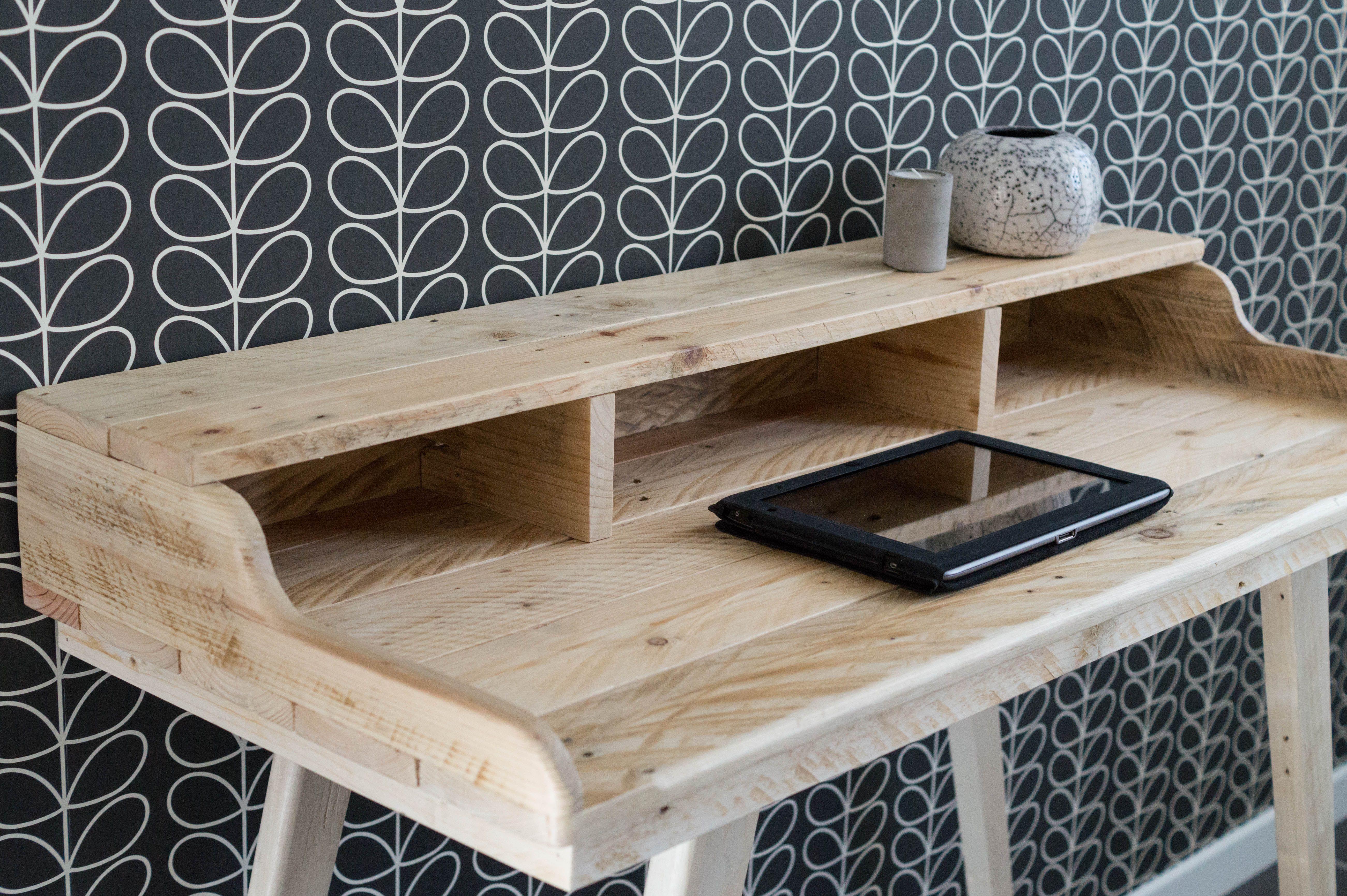 Bureau bureau en bois bureau style scandinave bureau en bois