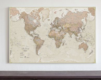 Denim map of the world pinterest canvases kids rooms and room canvas antique world map medium wm1498 maps international gumiabroncs Choice Image