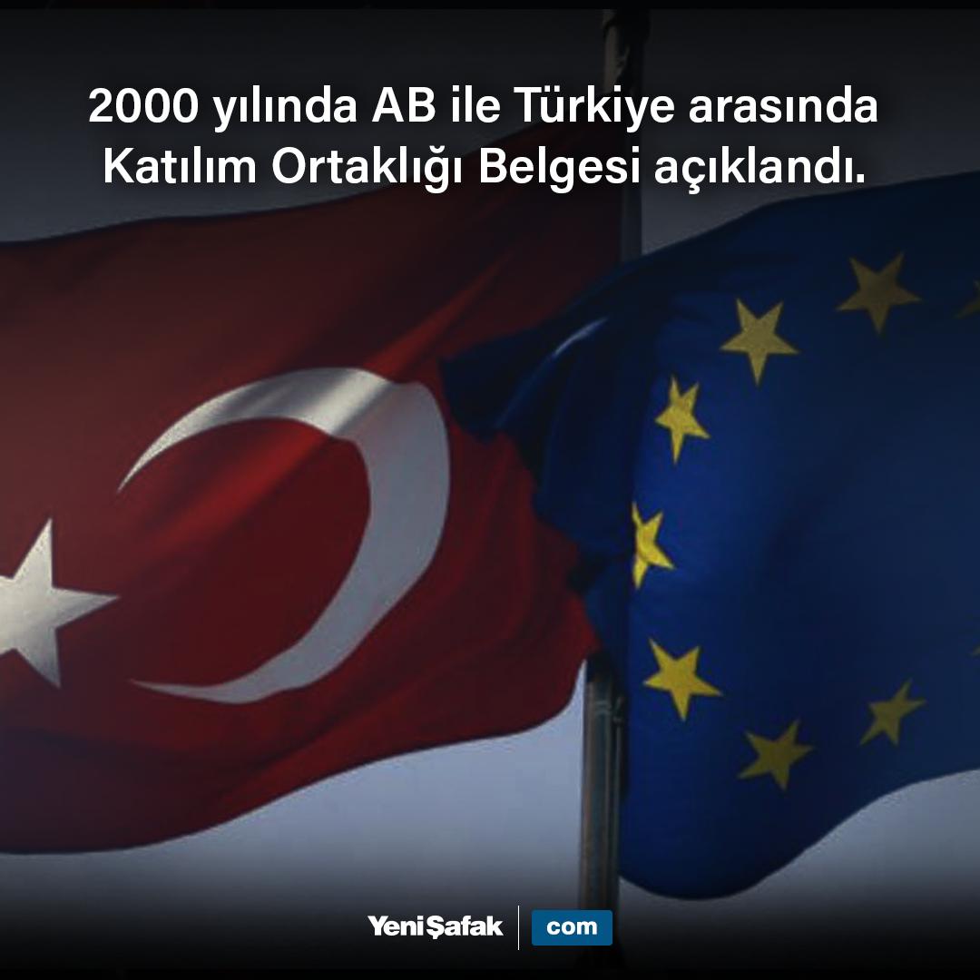 tarihtebugün 2000 yılında AB ile Türkiye arasında