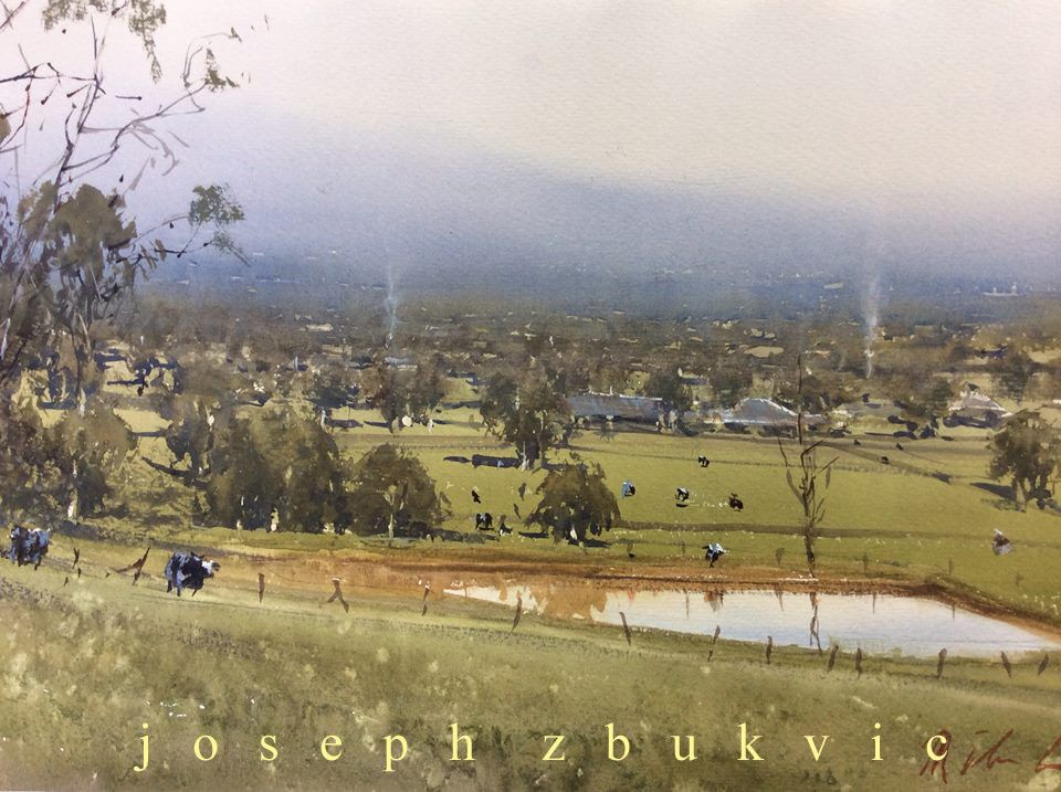 Recent Paintings by Joseph Zbukvic - josephzbukvic | 水彩風景. 風景. 風景畫