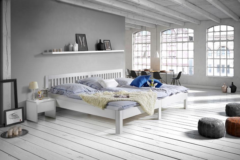 Familienbett  - schöner wohnen schlafzimmer gestalten