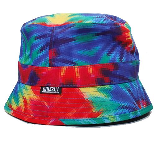Grizzly Digi Tie Dye Bucket Hat (Tie Dye)  43.95  936c7379a47
