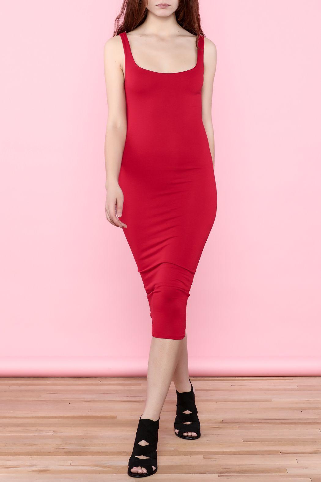 Red Midi Dress Red Midi Dress Dresses Midi Dress [ 1575 x 1050 Pixel ]