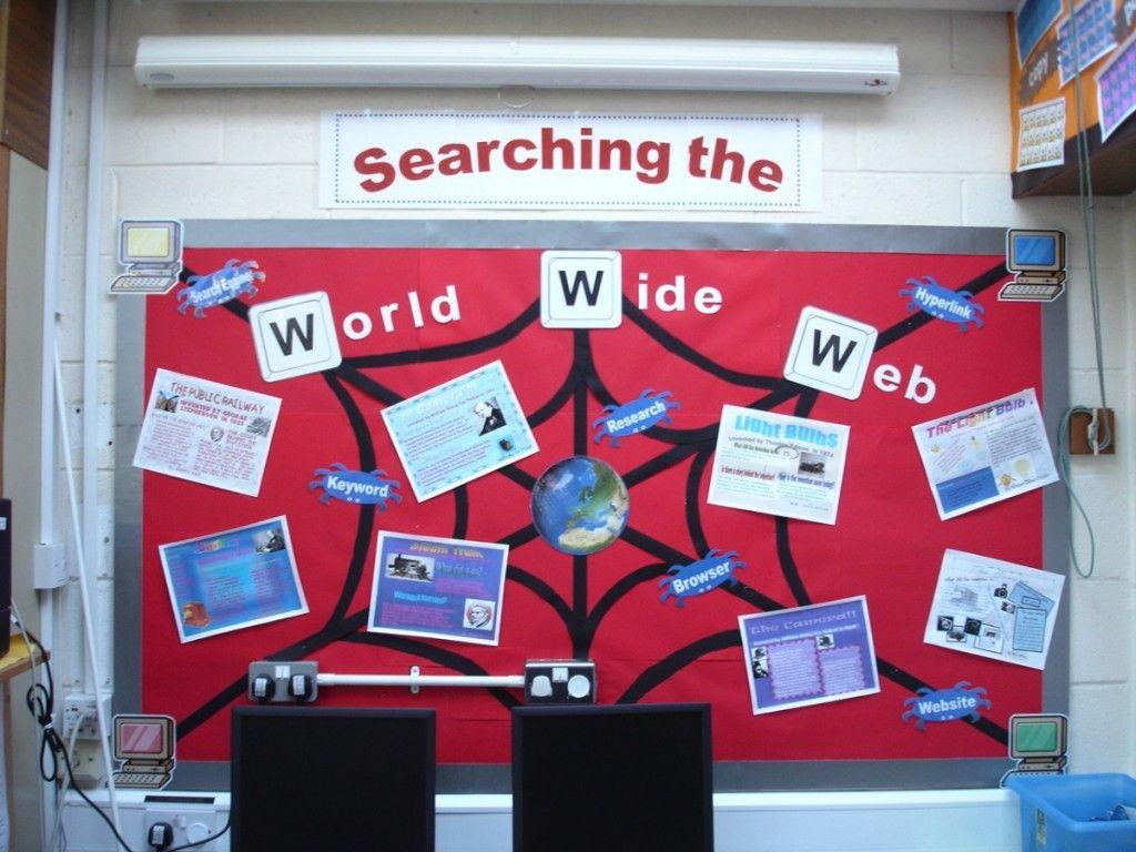 Classroom Website Ideas ~ Searching the world wide web teaching photos work