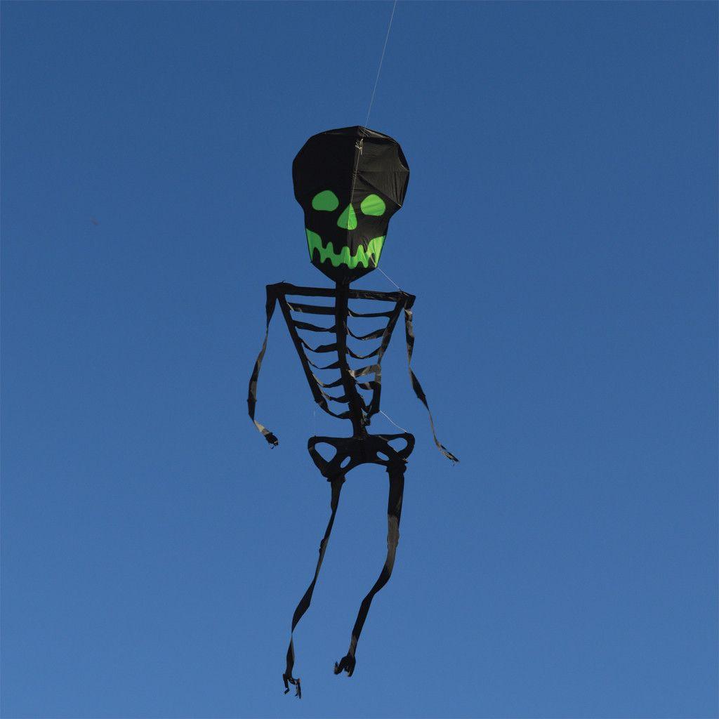 13 ft Dia De Los Meurtos Skeleton Kite