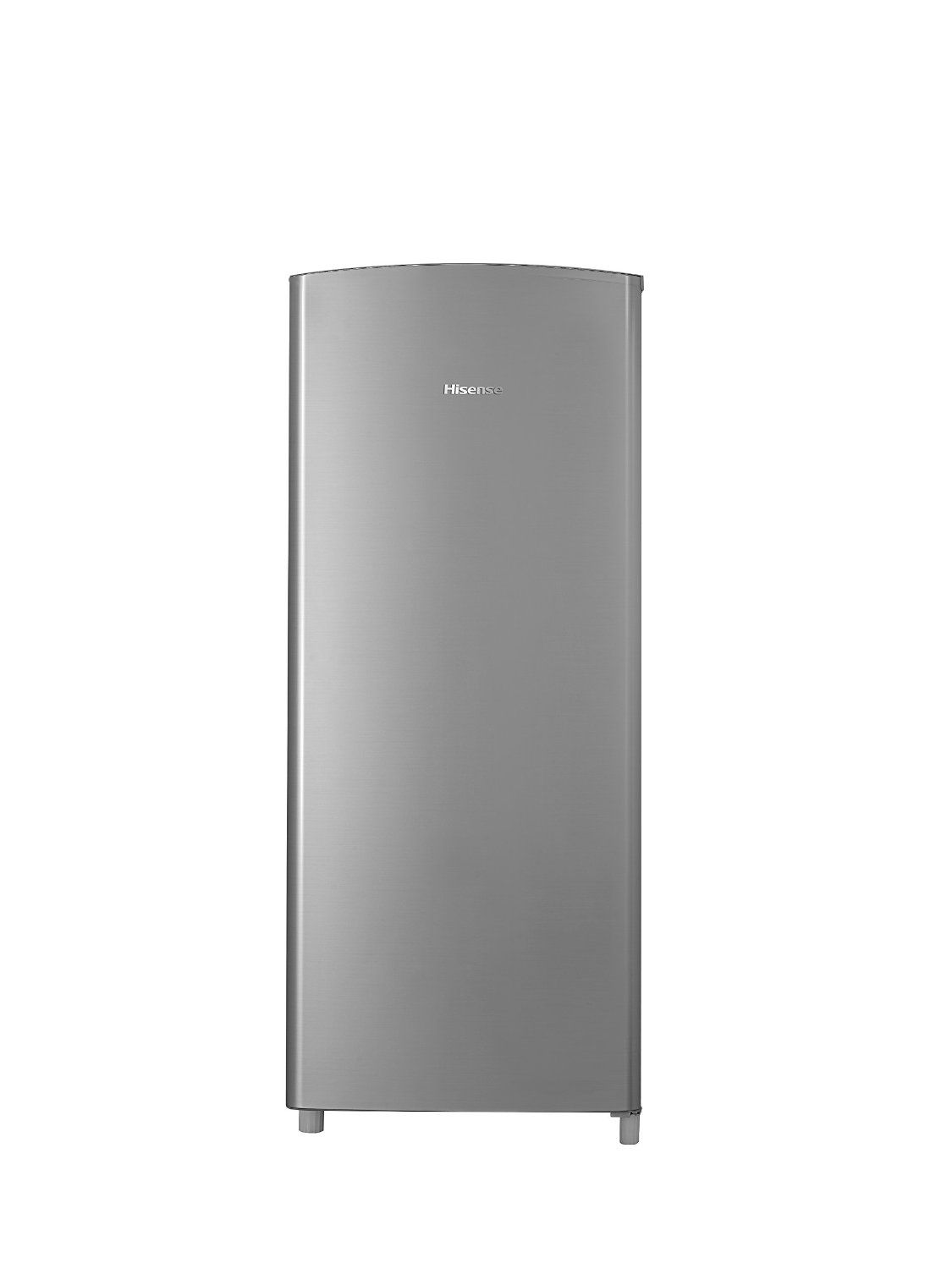 Hisense Rr63d6ase Refrigerator With Single Door And Freezer 6 3 Cu Ft Stainless Silver This Is An Amazon Affiliate Li Single Doors Refrigerator Freezer