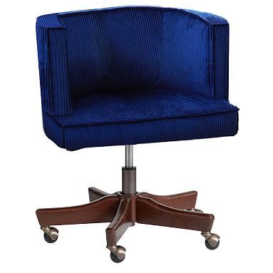 Scoop Swivel Desk Chair #pbteen  sc 1 st  Pinterest & Scoop Swivel Desk Chair #pbteen | Peaceful Space | Pinterest | Desks ...