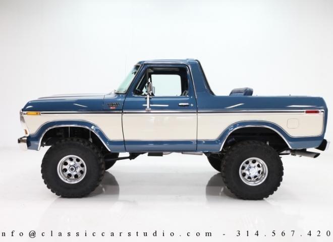 1436-1979-Ford-Bronco-Custom-XLT-SUV-5 | Classic broncos | Pinterest ...