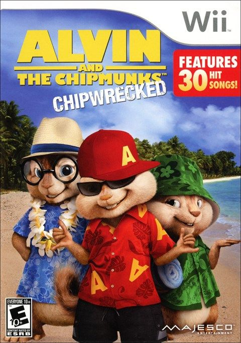 jogo alvin and the chipmunks chipwrecked - nintendo ds