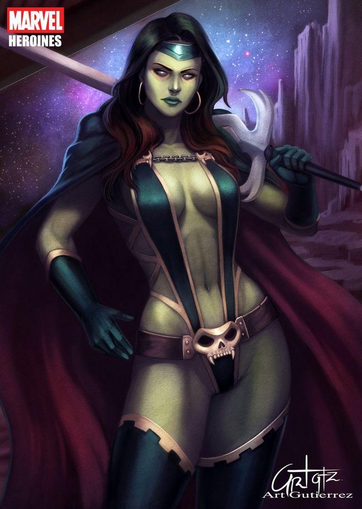 Gamora - Marvel Heroines | Donne marvel, Marvel, Fumetti