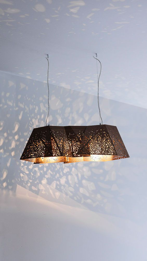 Plywood Chandelier, Contemporary Home Office Design at Cassoni.com