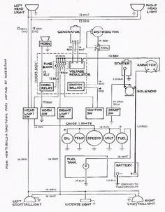 basic ford hot rod wiring diagram ride pinterest ford and rats rh pinterest com Points Ignition Wiring Diagram Basic 12 Volt Wiring Diagrams