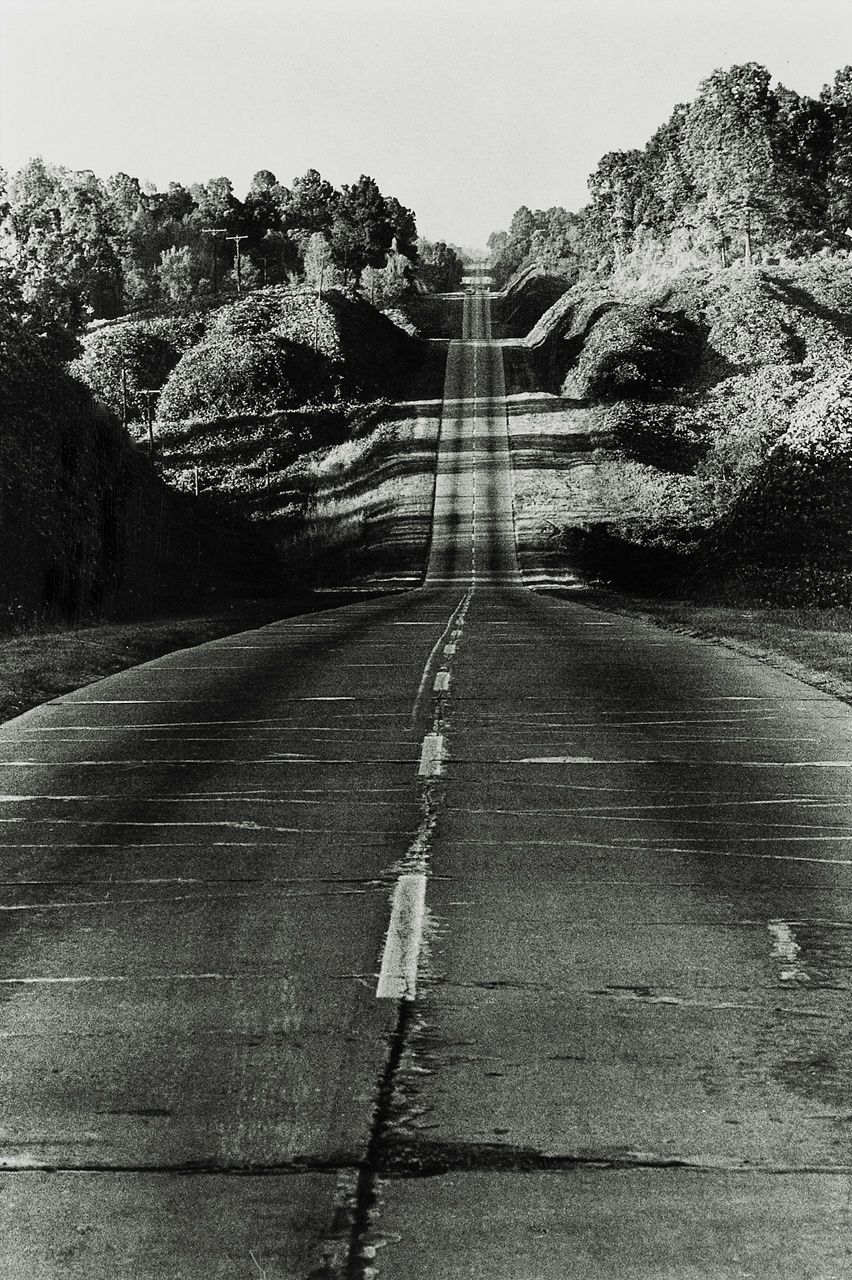 highway 49 from jackson to yazoo city, 1964 • danny lyon