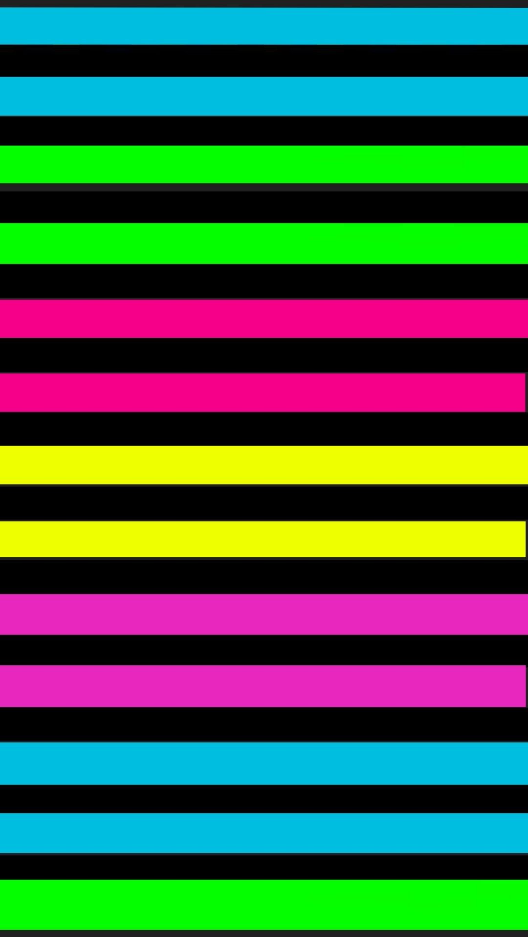 Neon Wallpaper Image By Christina Kirkendall On Striped