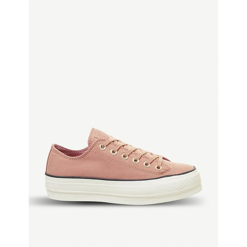 Converse All Star Low Platform Leather