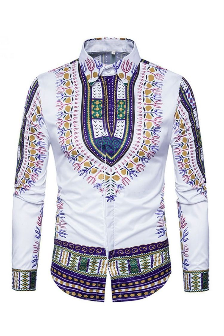 933a0e228c Camisa Dashiki   Camisas Africanas de 2019   Casual shirts for men ...