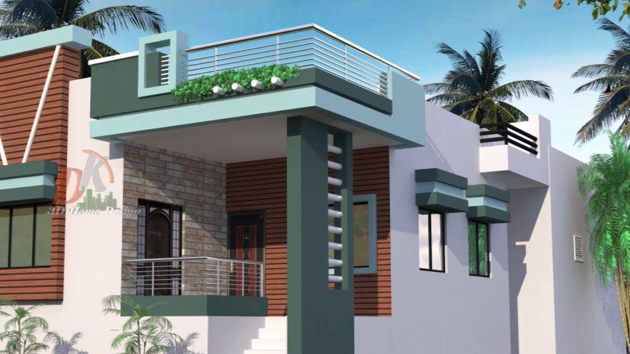 Most Attractive Ground Floor Home Design In 2020 Small House Front Design Portico Design House Front Wall Design