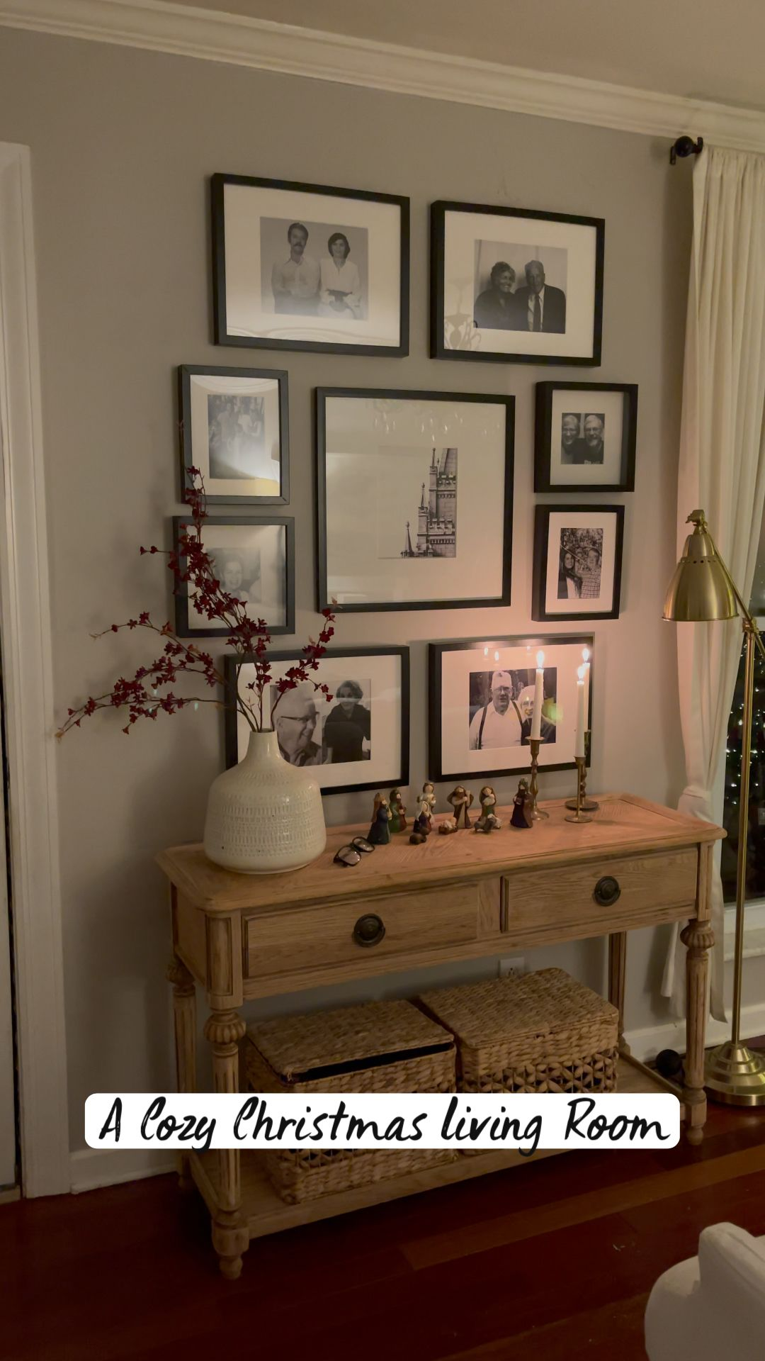 Photo of A Cozy Christmas Living Room