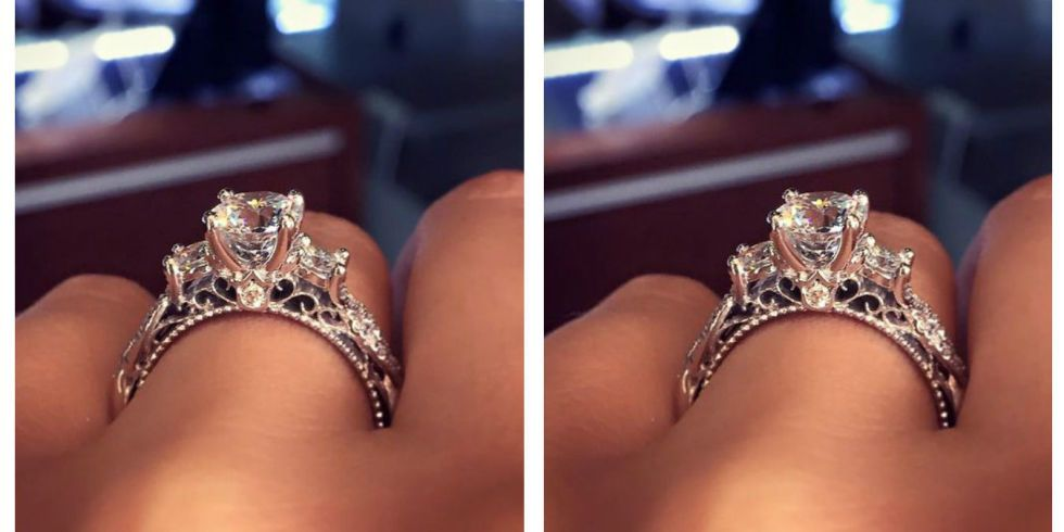 This Is The Most Popular Engagement Ring On Pinterest Popular