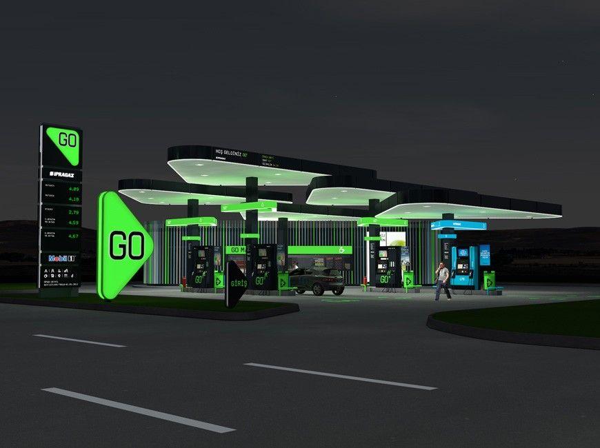 Saffron Brand Consultants Work Ipragaz Gas station