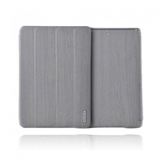 Wood Style (Harmaa) iPad Air Nahkakotelo - http://lux-case.fi/catalog/product/view/id/23910/s/wood-style-harmaa-ipad-air-nahkakotelo/